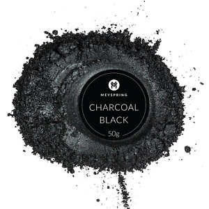 MEYSPRING Charcoal Black Mica Powder for Epoxy Resin Color Pigment Resin Dye $15.99