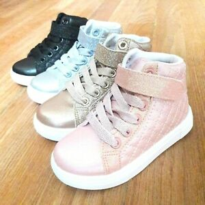 Infant Toddler Girls Sneakers Shoes Size 5-10 New