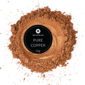 MEYSPRING Pure Copper Mica Powder for Epoxy Resin Color Pigment Resin Dye $13.99