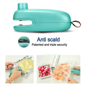 Mini Handheld Heat Sealer for Plastic Sealing Bag Cutter Resealer Portable