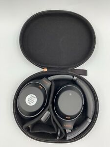 Sony WH-1000XM3 Bluetooth Wireless Noise Canceling Headphones Black