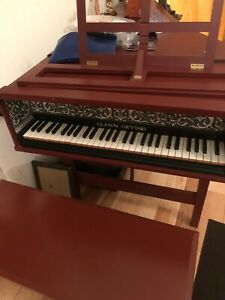 VINTAGE HARPSICHORD THREE LEGS CLASSIC GRAND DESIGN EXCELLENT CONDITION