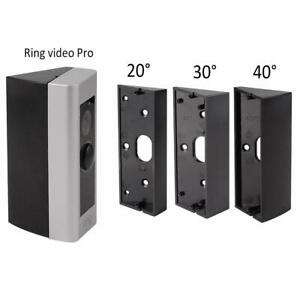 3Pcs Angle Adjustment Adapter Mounting Plate Bracket for Ring Video Doorbell Pro