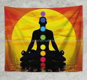 tapestry wall decor chakras meditation wall hanging tapestry