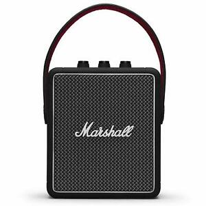 Marshall Stockwell II Portable Wireless Bluetooth Speaker Black $169.99