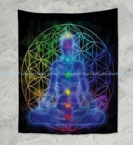 wall decals for home chakras meditation wall hanging tapestry