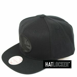 Mitchell & Ness - Golden State Warriors All Black High Crown Snapback