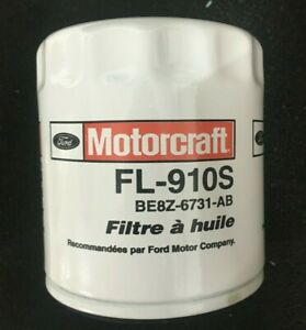 Lot of 2 Cases Motorcraft FL-910S HE Silicone Valve Engine Oil Filters