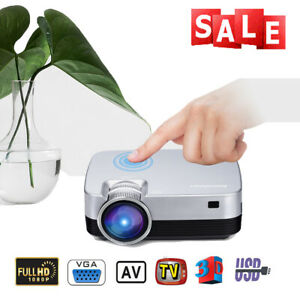 Excelvan Home Theater Projector Home Cinema 5000 Lumens 3D 1080P Videos HDMI USB