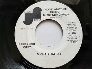 MICHAEL GATELY - Color All the World  Hook Another Horse 1972 FOLK BLUES ROCK
