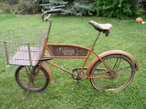 Pre War Schwinn Cycle Truck Delivery Bicycle $1699.99