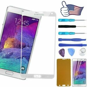 Front Screen Touch Replacement Glass Lens Repair Tool For Samsung Galaxy Note 4