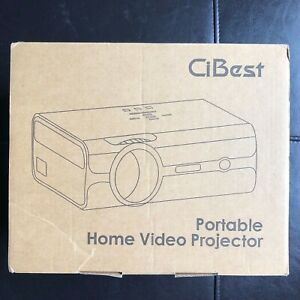CiBest HD Video Projector 1800 Lumens Multimedia Home Theater LED Projector