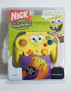 Spongebob Squarepants Nintendo GameCube Controller Edition NEW IN PACKAGE!!!