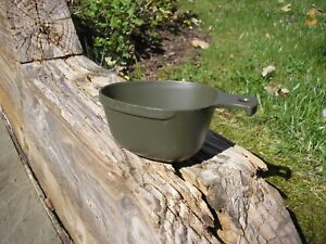Genuine Swedish Army Military Plastic Mess Kit Cup or