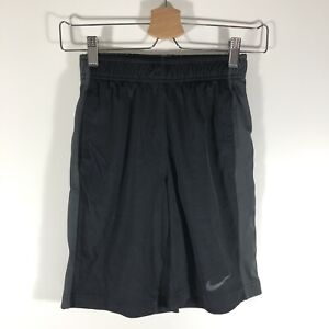 Nike Dri Fit Dry Fly Stay Cool Training Shorts Black Youth Boy's Small S