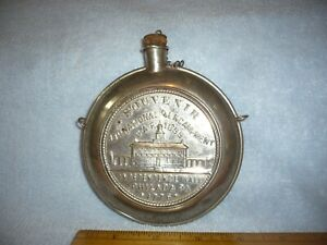 1899 G.A.R  33rd . national encampment souvenir we drank from the same canteen