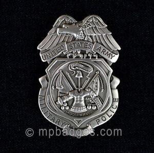 US Army MP Full Size Insignia Badge