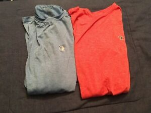 Champion Extra Large Dri Fit T Shirts Red Blue + Free Gifts! $9.99