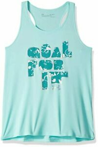 Under Armour Girls Goal for IT Tank Neo TurquoiseAzure Teal Youth