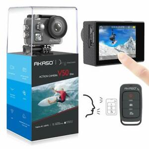 2019 New Akaso V50 Elite Ultra HD 4K Action Camera 20MP Wifi EIS Touch Screen US