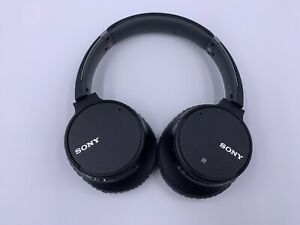 SONY WH-CH700NB Headphones Black - MSRP $199.99