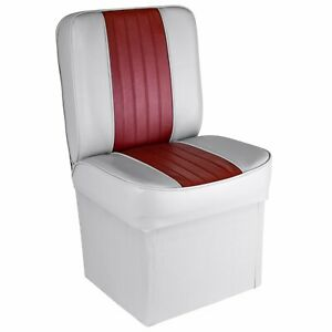 Deluxe Boat Jump Seat With Storage Single Chair 10