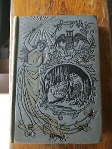 The Silver Fairy Book Tales Andrew Lang RARE Antique 1900 Victorian Collectible