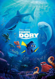 Finding Dory (Blu-ray + DVD + Digital HD) ** New Free Shipping *with slip cover