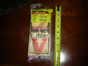 Victor Metal and WOOD Rat Trap 1 Trap Wood Rat Trap Pack Of 1