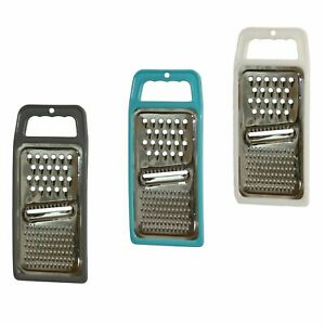Stainless Steel Flat Cheese Grater - 3 Pack (Color may vary)