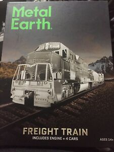 Fascinations Metal Earth Gift Box Sets - Freight Train 3D Model Kit