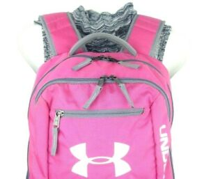 Under Armour storm Hustle Backpack Tropic Pink Hot Pink School Collage LapTop