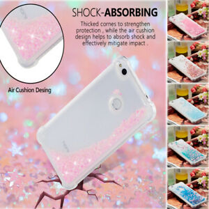 For Huawei P8 Lite Mate 20 Pro P20 ShockProof Glitter Quicksand TPU Case Cover
