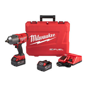 Milwaukee 2767-22 18V Impact Wrench Friction Ring 2 Batteries Charger and Bag
