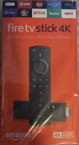 Amazon Fire TV 4K Stick Pre-Set Up 3rd Gen With Alexa Voice Remote Plug