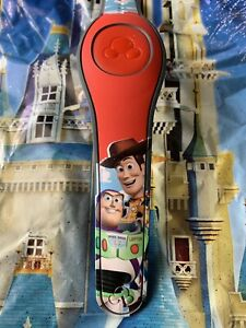 Disney RED TOY STORY BUZZ LIGHTYEAR WOODY Magic Band 2.0 Magicband Parks $34.95