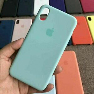 Classic Genuine Original Hard Silicone Case Cover For Apple iPhone X / XS Max XR