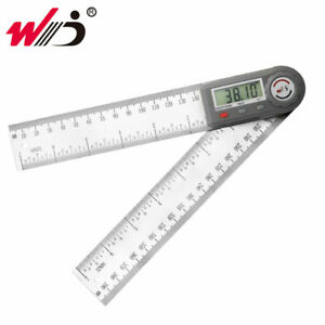 0 200 mm 7#x27;#x27; Digital Protractor Angle Ruler Electronic Goniometer Angle Meter $18.09