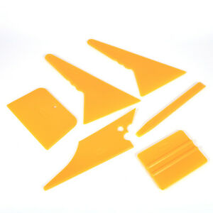 6* Car Window Tint Tools Kit Scraper Squeegee for Auto Film Tinting Installation