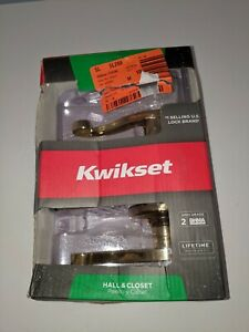 Polished Brass Lever Hall And Closet New Opened/Damaged Box                  B10