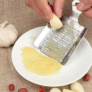 Stainless Steel Garlic and Ginger Grater, Small(Silver)