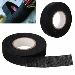 19mm x 15M Adhesive Cloth Fabric Tape Cable Looms Wiring Harness For Car Auto US