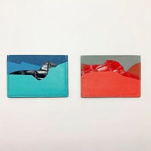 Handmade Calf/sheep/crocodile Skin Petit h Credit Card Holder Free Shipping