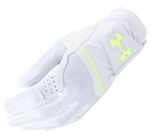 Under Armour UA Women's Coolswitch Golf Glove Left Medium WhiteGreen NWT
