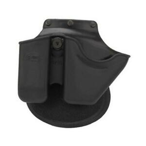 Fobus CU9G Black Paddle Style Handcuff & Magazine Combo Holster For Glock 9/40