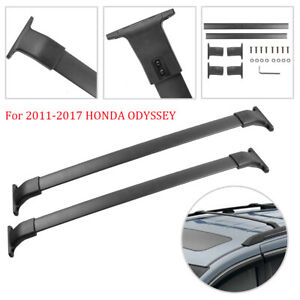 Roof Rack Luggage Carrier Cross Bar Crossbars Kit For 2011-2017 Honda Odyssey