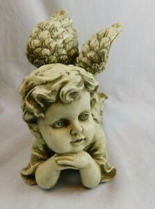 Cherub laying down 8quot; H x 13quot; L Garden Lawn House $24.49