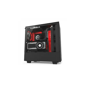 NZXT H500i No Power Supply ATX Mid Tower w/ Lighting and Fan Control (Matte Blac