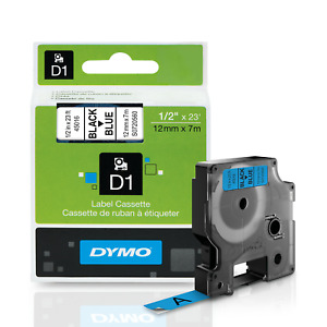 DYMO Standard D1 Labeling Tape for LabelManager Label Makers, Black print on W x